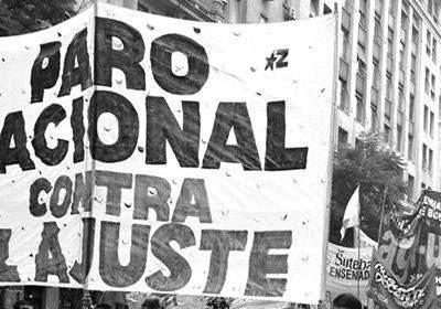 Bancos, vuelos y clases afectados por el paro nacional.