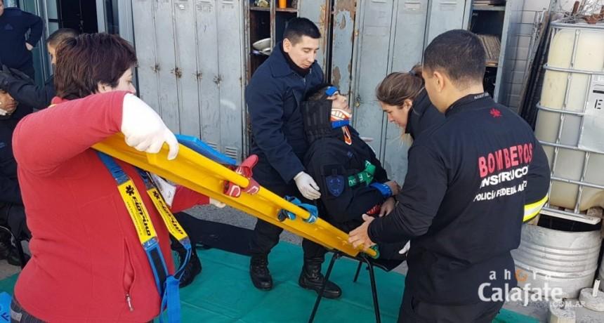 Policía Federal ofreció capacitación en Emergencias