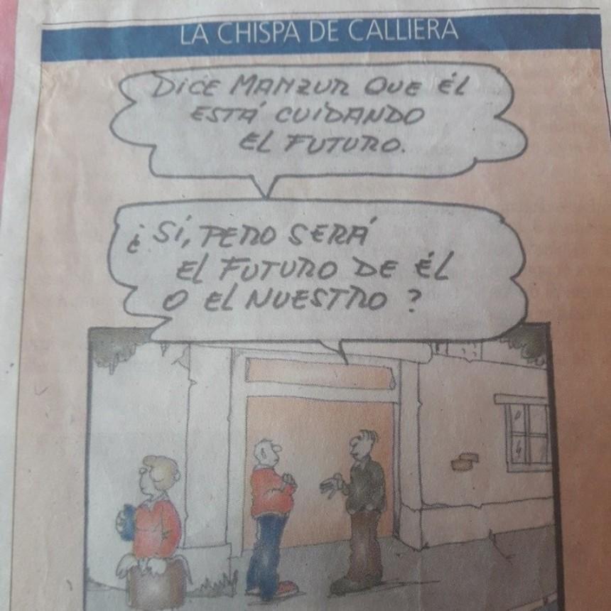Apuntes Ciudadanos: CALLIERA, HUMOR EN SERIO