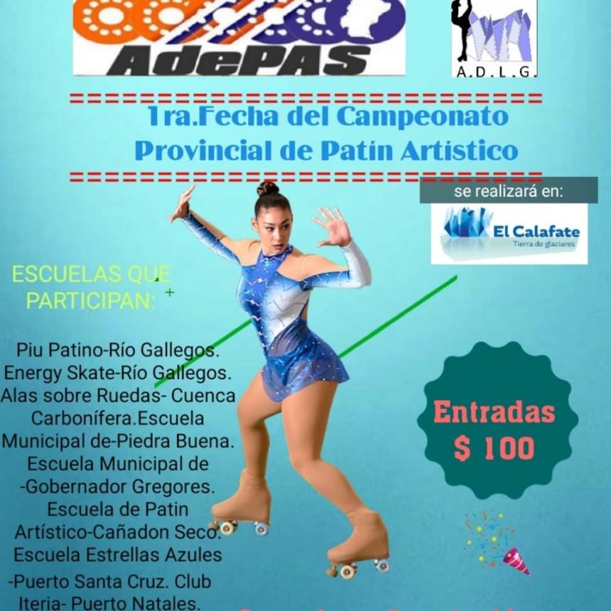 Arranca el Campeonato Provincial de Patín Artístico en El Calafate