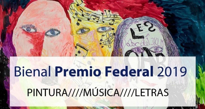 """Arte. Se lanzó el concurso Bienal """"Premio Federal"""""""