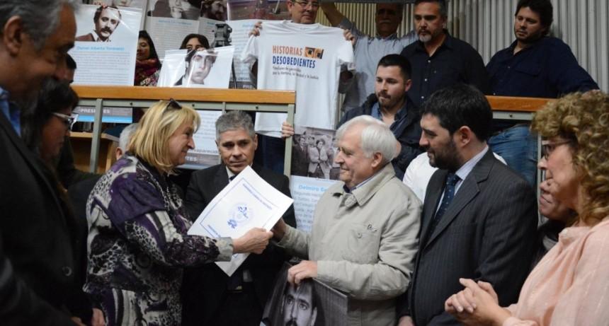 Se creó la Comisión Provincial de la Memoria