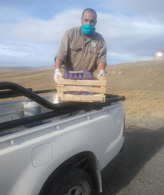El CAP brinda asistencia a pobladores rurales