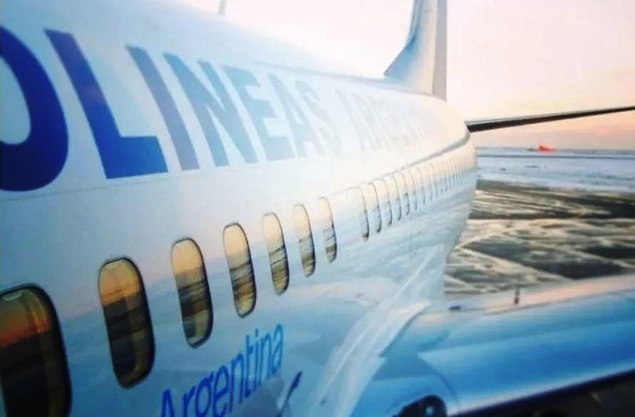 Se suspendió el vuelo de Aerolíneas a Río Gallegos