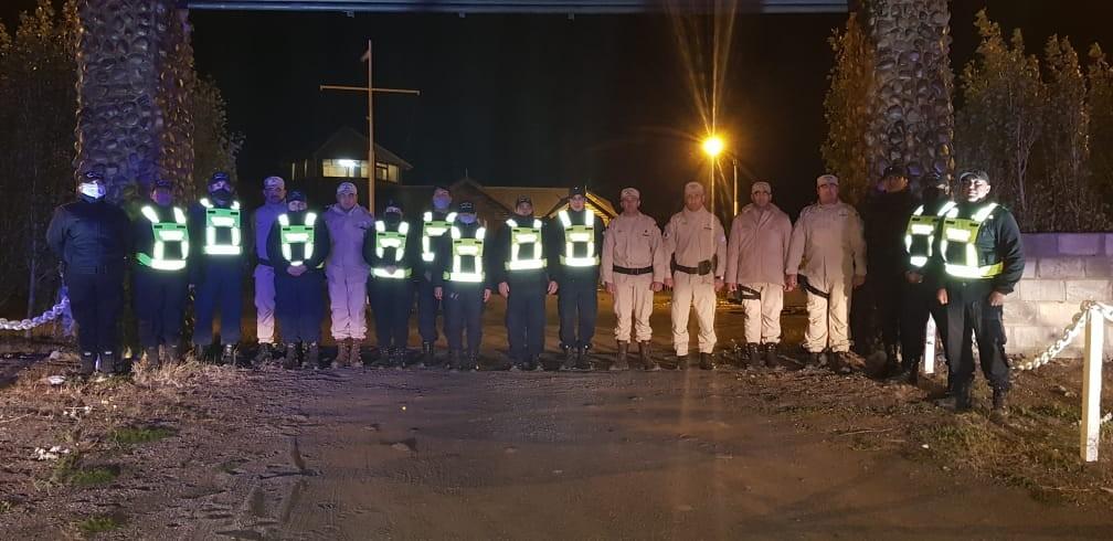 En El Calafate se homenajeó al prefecto asesinado en Puerto Deseado