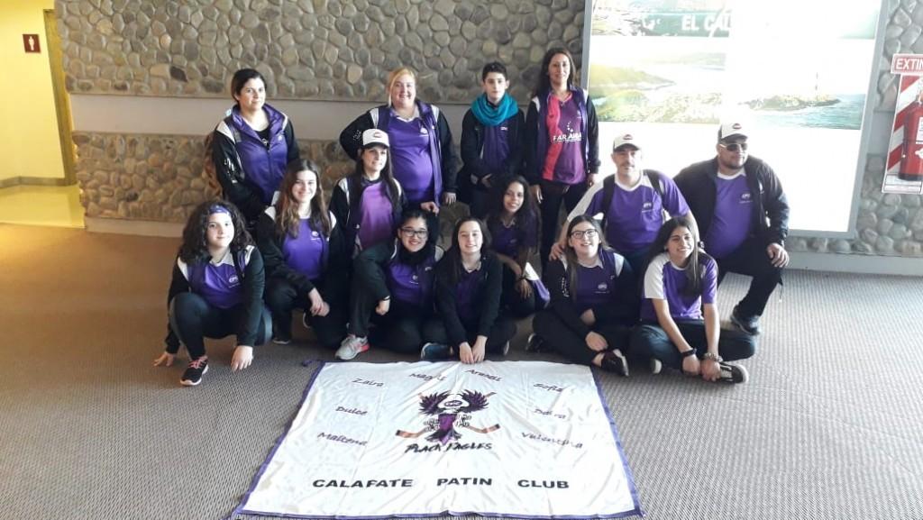 El Calafate Patín Club sigue entrenando en sus casas