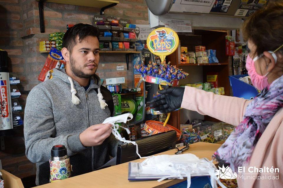 Será obligatorio el uso de barbijos en los Comercios de El Chaltén