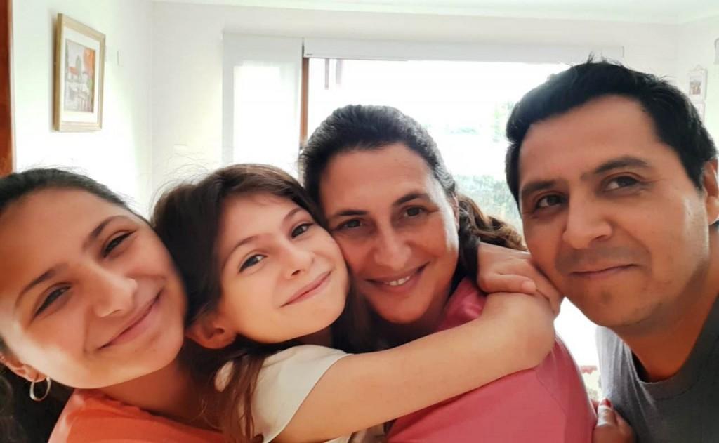 VIDEO ENTREVISTA. El emotivo rencuentro de Naty con su familia al recibir el alta