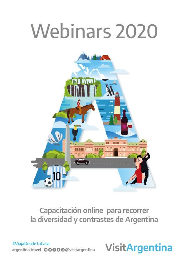 Argentina se posiciona a través de webinars en 30 mercados