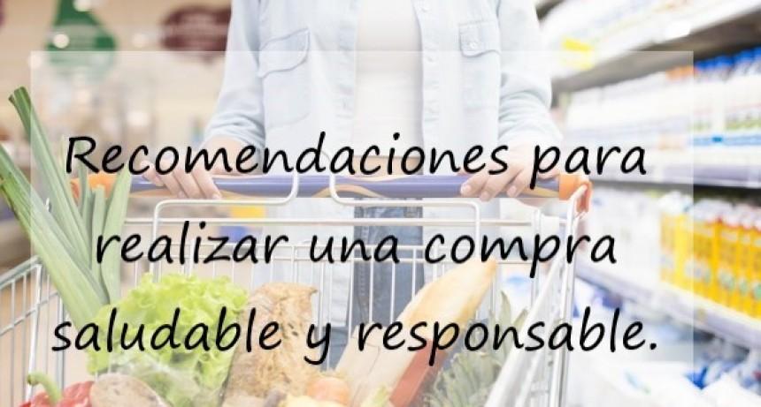 Recomendaciones para realizar una compra saludable y responsable