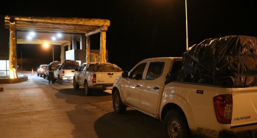 Regresaron 120 residentes a El Calafate