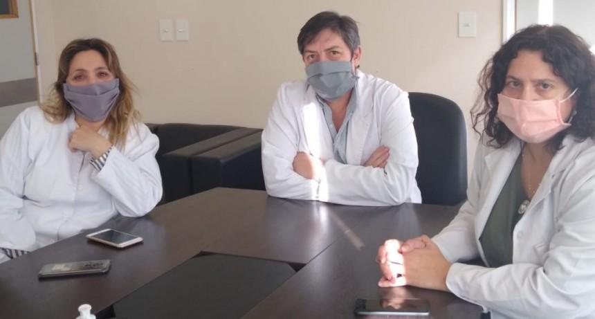 Autoridades del hospital dieron detalles del último caso positivo