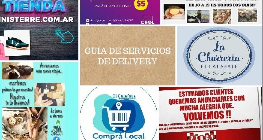 Guía de Servicios de Delivery