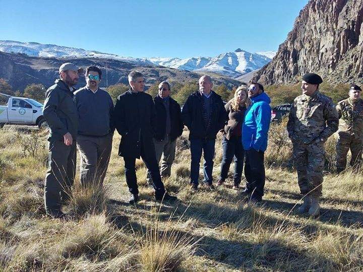 El Chaltén. Ejército realiza prácticas de salvamento en montaña