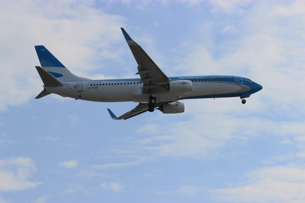 Baja el número de vuelos para El Calafate