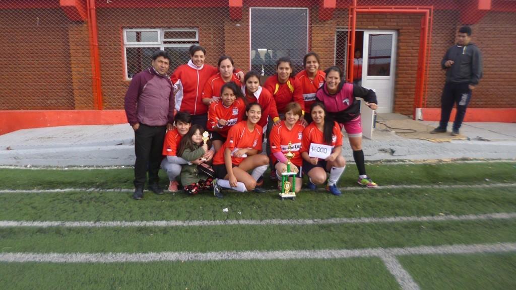 Deportivo Esperanza CAMPEÓN del Torneo Apertura de Fútbol Femenino