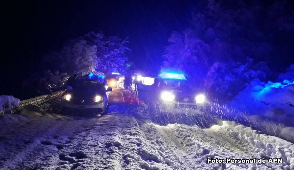Turistas quedaron varados en el Parque por la intensa nevada