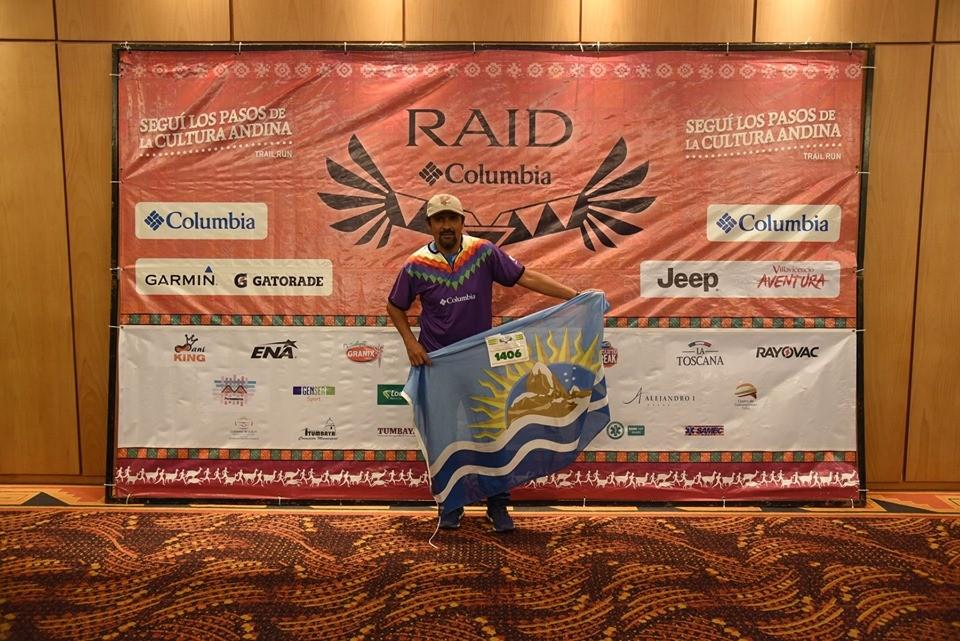 Calafateño corrió el Raid Columbia 2019