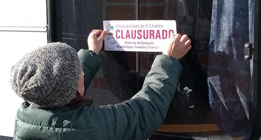 El Chaltén: Municipio clausura establecimientos que no cumplían con la normativa