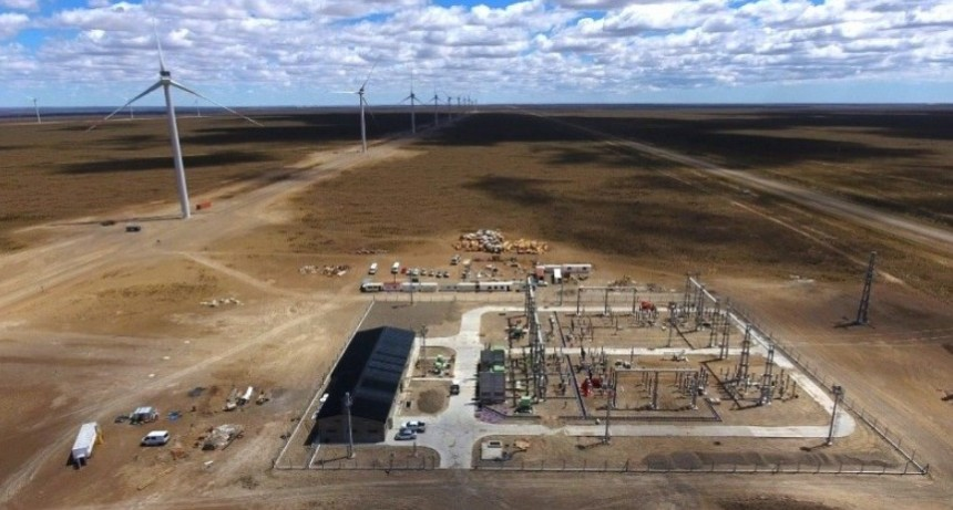 Energía eólica de Santa Cruz abastece a Acindar