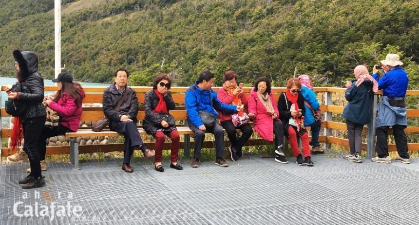 Crece el interés de los chinos por conocer los Glaciares