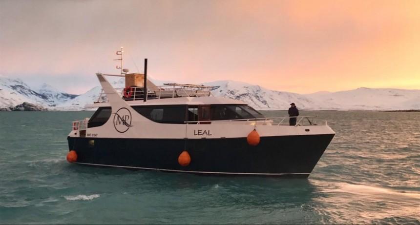 Realizan inédito estudio del fondo del lago Argentino