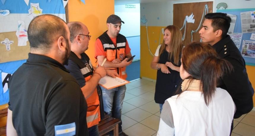 Protección Civil inició en El Calafate el Programa Provincial de Contingencias