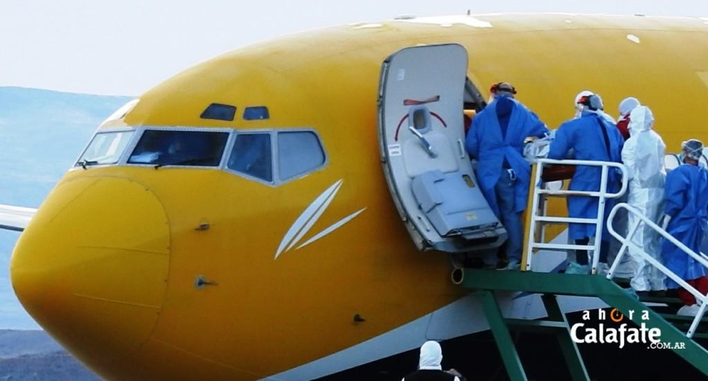 IMÁGENES. Culminó con éxito el operativo de repatriación de los turistas franceses