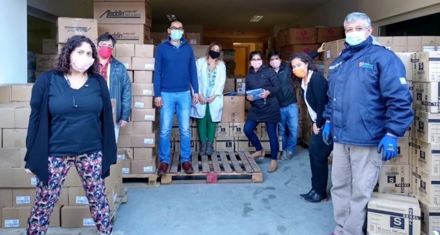 Pandemia: SAMIC El Calafate recibió un cargamento de insumos