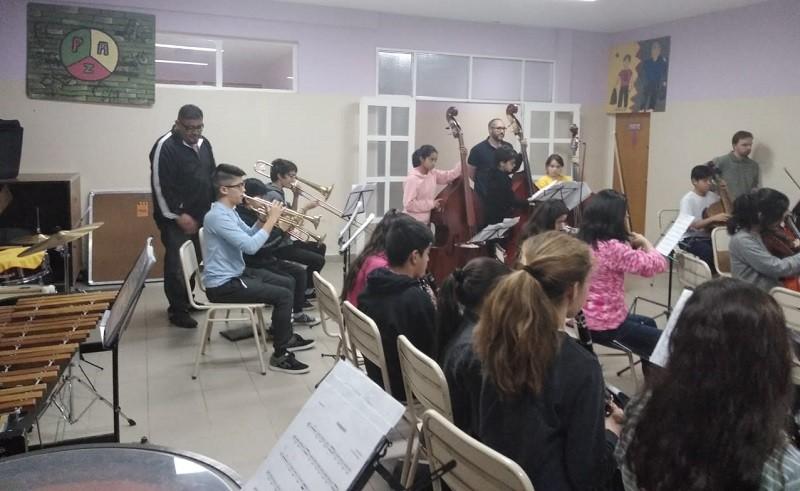 Capacitación a la Orquesta de El Calafate