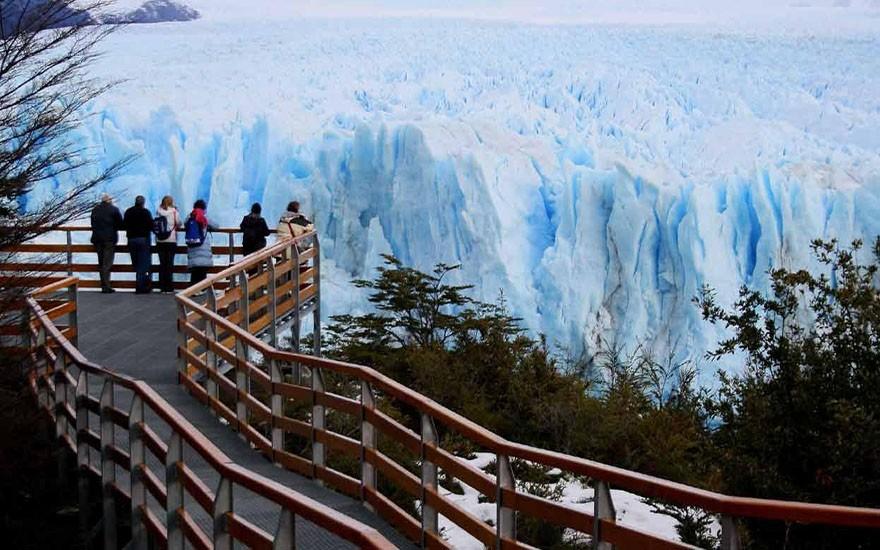 Provincia hará la restauración de las pasarelas frente al Glaciar