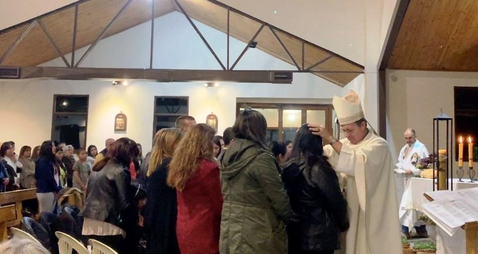 Obispo García Cuerva realizó su primera visita a El Calafate