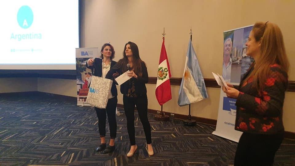 El Calafate presente en Misión Comercial en Lima