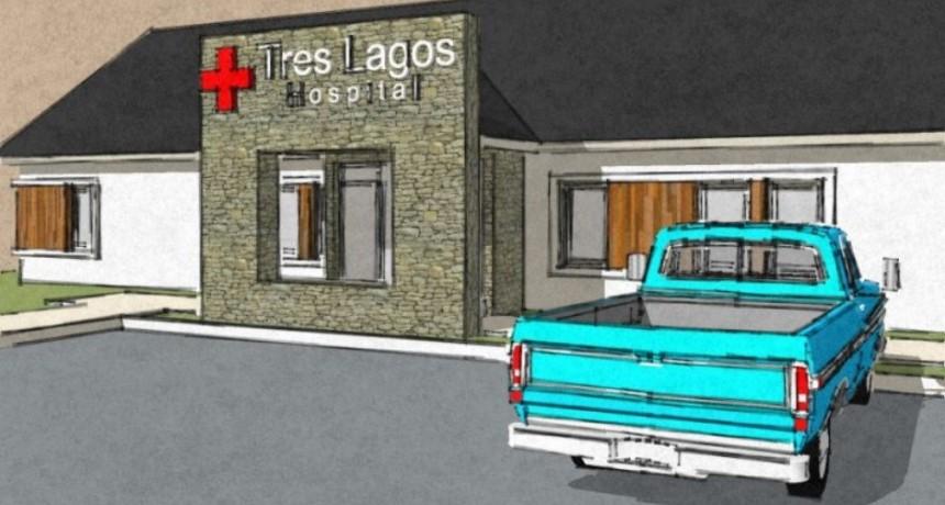 Se licitó la obra del Hospital de Tres Lagos