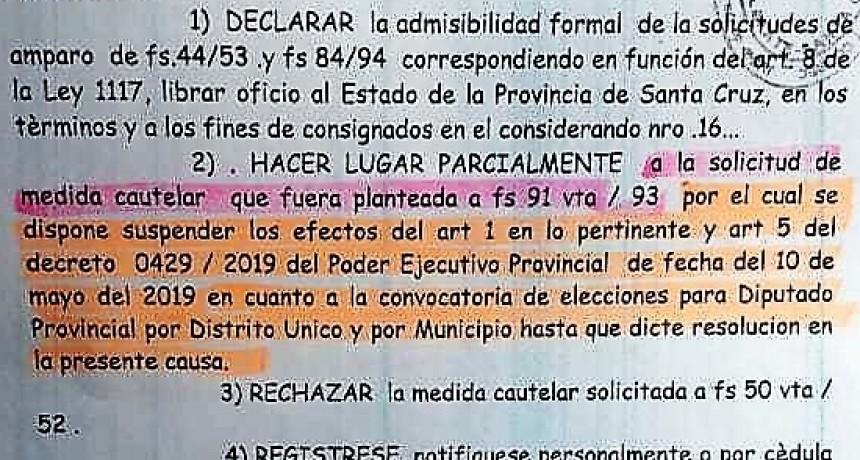 Jueza suspende elección de Diputado por el Pueblo