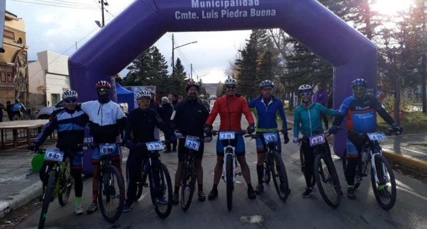 Buena actuación de los ciclistas calafateños en el MTB Patagónico