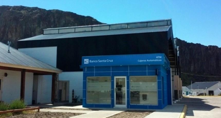 Piden mejorar los servicios del banco Santa Cruz en El Chaltén