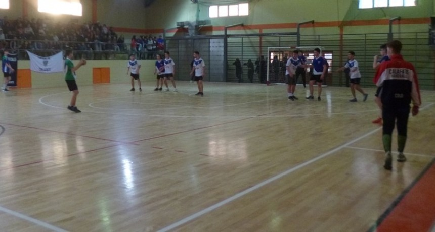 Se jugó una nueva jornada del Handball escolar