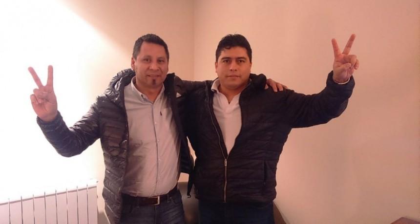 El candidato del petrolero Vidal en El Calafate