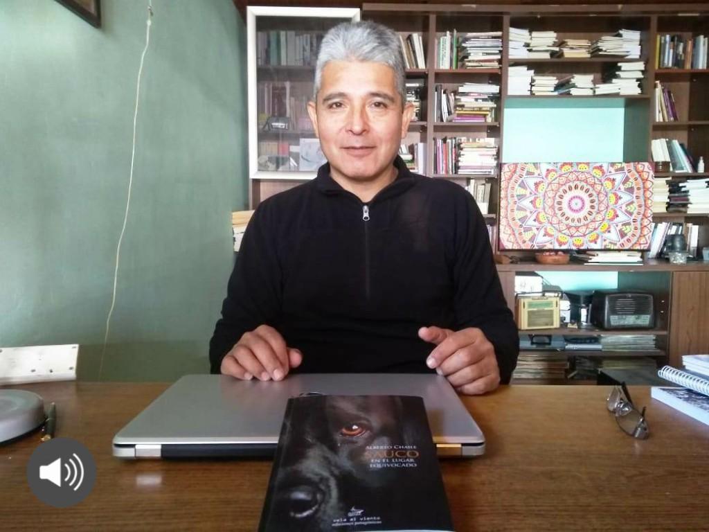 ALBERTO CHAILE PRESENTÓ SU NUEVO LIBRO EN FM DIMENSION