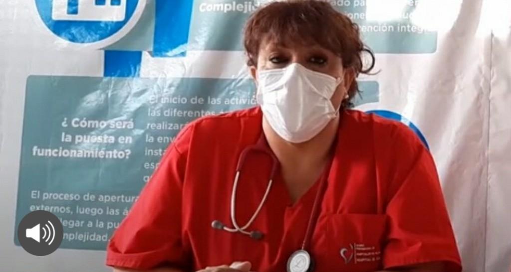 """ASPIRAMOS A RECUPERAR EL HOSPITAL DE ALTA COMPLEJIDAD"""