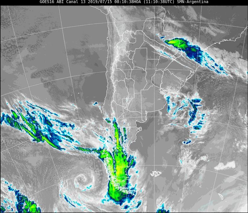 Alerta por aumento del viento en Santa Cruz