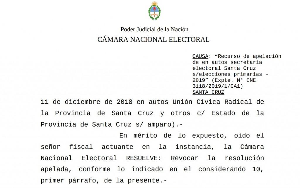 Elecciones: Finalmente habrá boletas separadas