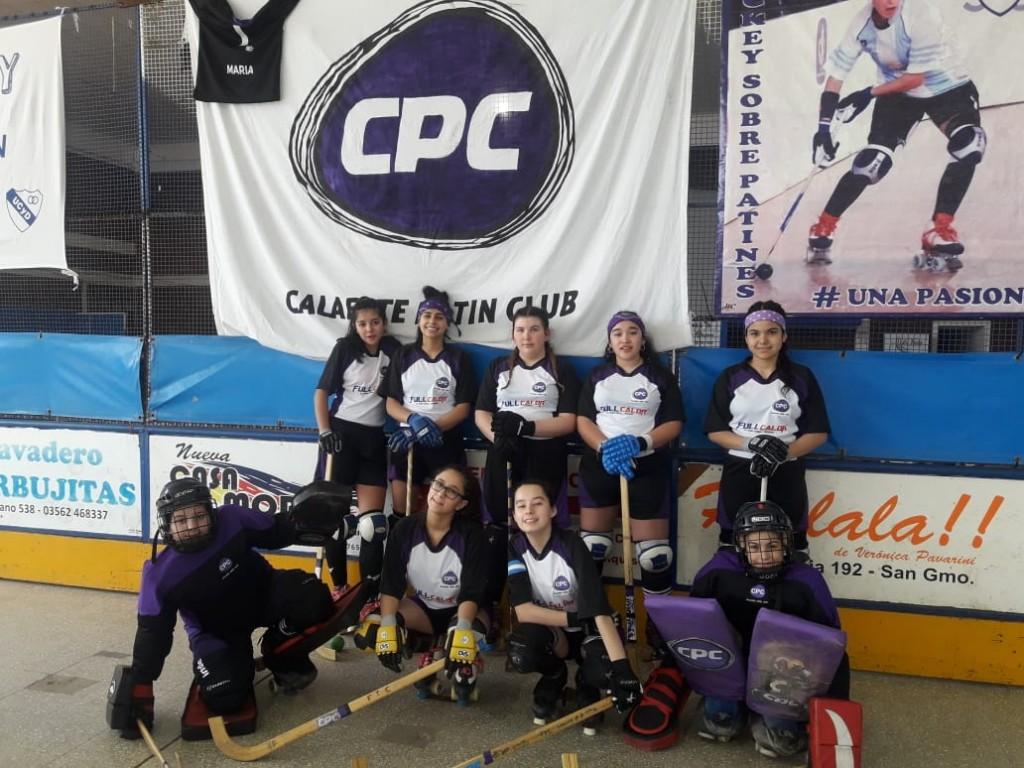 Calafate Patín Club logró su primer punto en un torneo nacional