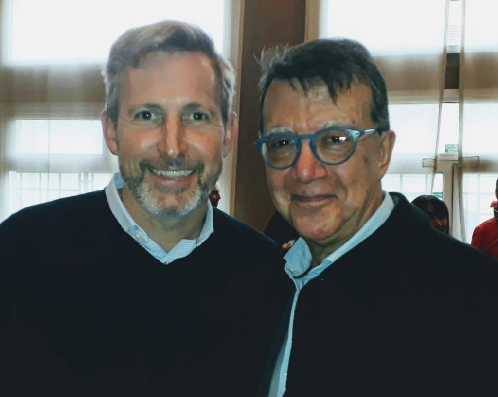 Ortiz Maldonado se reunió con el Ministro Frigerio por el SAMIC