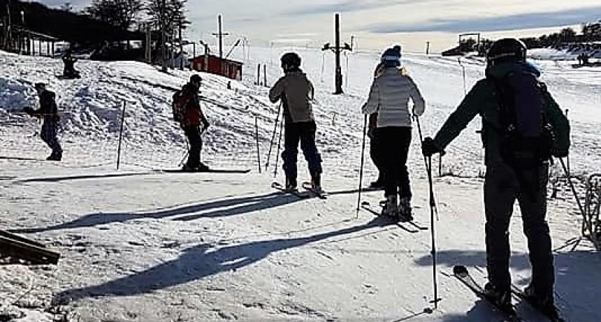 Empezó la temporada de esquí en Río Turbio
