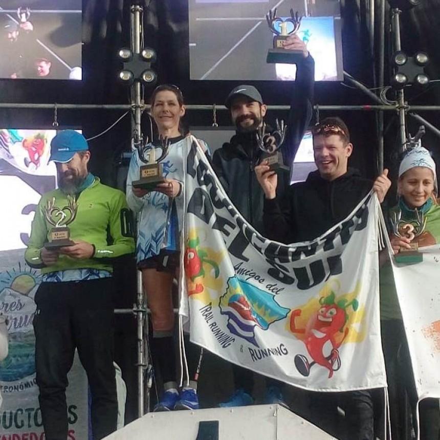 """Pascale Tailleu también hizo podio en """"Santa Cruz ReCorre"""""""