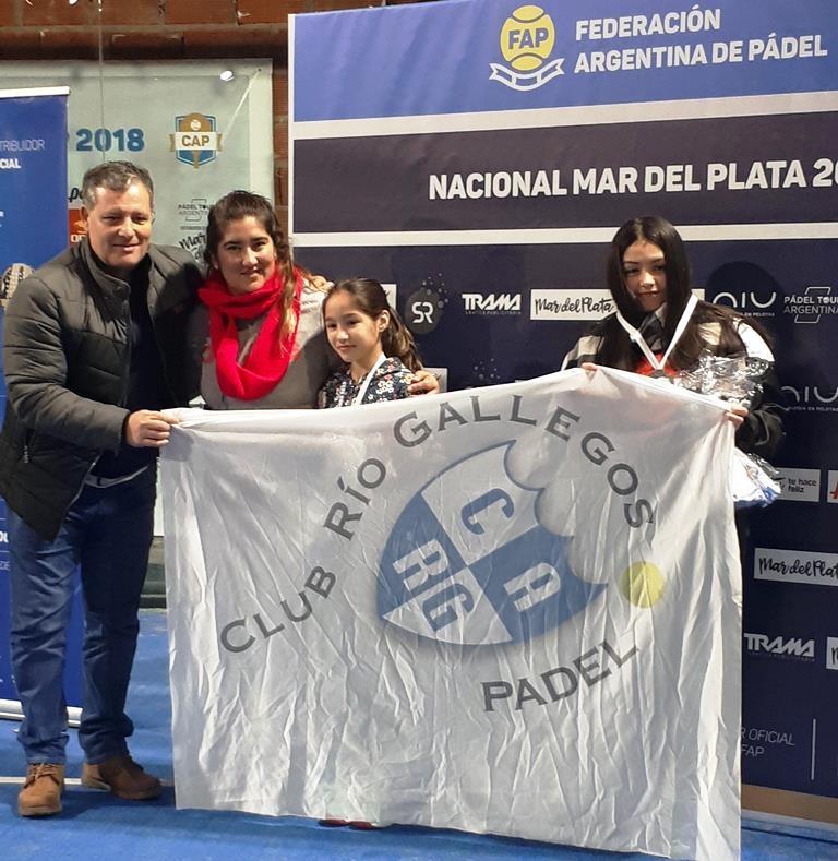 Una jugadora calafateña campeona en Torneo Nacional de Padel