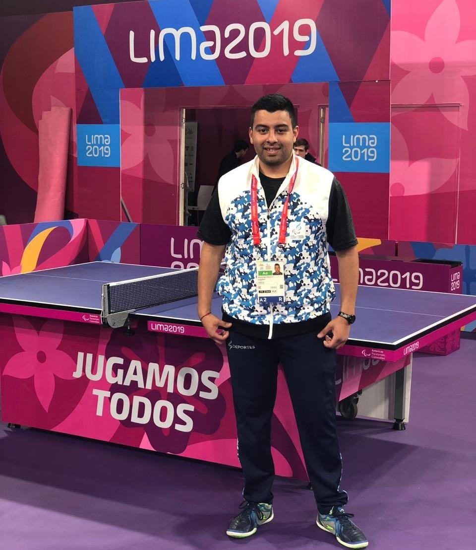 Un calafateño en los Para Panamericanos de Lima