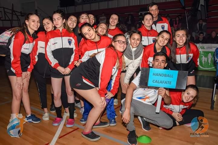 Handball. Jugadoras de El Calafate en torneo regional y nacional